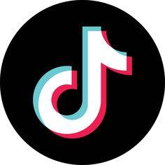 Tik tok logo black   App logo, Logos, App