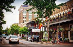 Adorable Downtown Pensacola. #Pensacola #florida #pensacolabeach