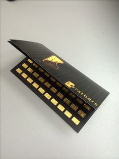 Multi Gram Card 100 x 1g Karatbars International will now be offering the Multi Gram Card, which is designed for those investors who are looking to save by purchasing larger quantities of gold at one time.  All gold bars are produced in a LBMA certified refinery and delivered in a visually appealing package.  Also in this case the daily repurchase price for buyback Karatbars bullion bars is applied.  Visit: https://www.karatbars.com/?s=michellebrandon to purchase this product today!