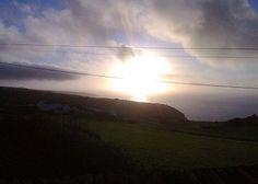 Estadias para férias ( Açores , Portugal ) : Férias em São Miguel,  Moradia para férias Pôr de Sol Achada do Nordeste