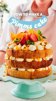 Baking Recipes, Cake Recipes, Dessert Recipes, Desserts, British Sweets, Syrup Cake, Baking School, Amazing Cupcakes, Graduation Cake