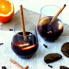 Glogg (Hot Spiced Wine) inspired by The Girl With the Dragon Tattoo