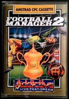 Juego Amstrad CPC Cinta - Football Manager 2 (1989)