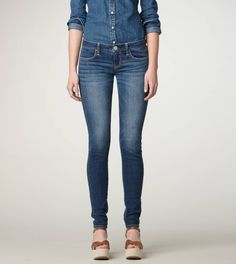 """im a big fan on the american eagle """"jegging"""" they look great and feel great too!"""