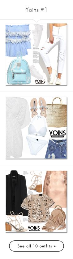 """Yoins #1"" by aida-nurkovic ❤ liked on Polyvore featuring NIKE, Indego Africa, Needle & Thread, Rebecca Minkoff, Marni, Too Faced Cosmetics, Stila, Frame, ABS by Allen Schwartz and Victoria Beckham"