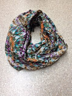 Women's infinity scarf by mgnaffziger on Etsy