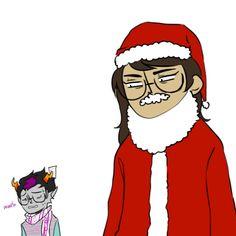 • christmas party homestuck Dave comic Karkat vriska rose john jade sollux jake terezi equius gamzee eridan feferi aradia tavros nepeta kanaya Roxy dirk long post rubbish EXTREMLY FUCKING LONG POST heinousrose bagelartnstuff cheese3d •
