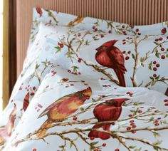Do You Have Holiday Bedding In 2019 Bird After Bird
