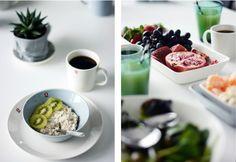 Aamupalaa ja klassikoita // Anna & Sebastian Anna, Breakfast, Tableware, Food, Morning Coffee, Dinnerware, Tablewares, Essen, Meals