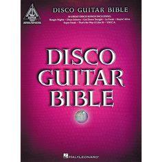 Hal Leonard Disco Guitar Bible Tab Songbook
