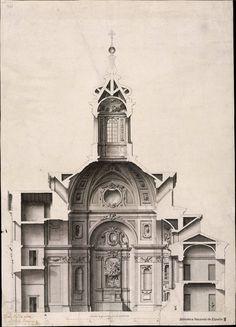 [Proyecto para una iglesia.. Rodríguez, Ventura 1717-1785 — Dibujo — 1738