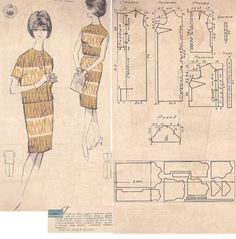 Dress and jacket pattern