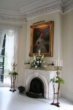 ZsaZsa Bellagio –   #fireplace  #mantle