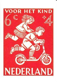 ◙ The Netherlands, Postage Stamp, ◙