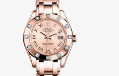 Pearlmaster 29 #rolexwatches #rolex #womenwatches  #luxurywatches #GEARYS #rolexwatchesforwomen #womenluxurywatches http://www.gearys.com/rolex