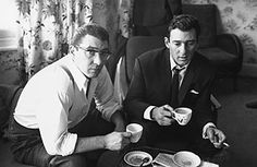 known as the most notorious identical set of thugs, the Kray twins, born in 1933, ran deadly mafia-style operations in London's East End throughout the '50s and '60s. Though they started off as amateur boxers, Reggie and Ronnie Kray moved on to extortion, armed robbery, arson, hijacking, assault, torture and murder.
