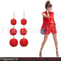 Pendientes Constance con bolas rojas ★ 13'95 € en https://www.conjuntados.com/es/pendientes-constance-con-bolas-rojas.html ★ #pendientes #earrings #conjuntados #conjuntada #joyitas #lowcost #jewelry #bisutería #bijoux #accesorios #complementos #moda #eventos #bodas #invitadaperfecta #perfectguest #fashion #fashionadicct #fashionblogger #blogger #picoftheday #outfit #estilo #style #streetstyle #spain #GustosParaTodas #ParaTodosLosGustos