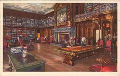 Biltmore House Library in Asheville, North Carolina, USA