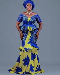 The complete pictures of latest ankara long gown styles of 2018 you've been searching for. These long ankara gown styles of 2018 are beautiful African Fashion Ankara, Latest African Fashion Dresses, African Print Fashion, Africa Fashion, African Wear, African Attire, Ghana Fashion, African Outfits, African Lace Dresses