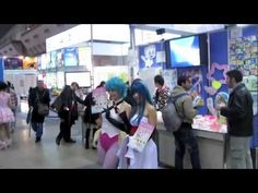 Animated Spring 2012 Vlog 5: Tokyo Int'l Anime Fair.  PacSet Tours will be going to Anime Contents Expo instead for 2013.  #pacset #japan #travel #tours
