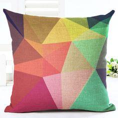 Европейский подушка дома диван автомобиль подушками геометрический стиль плед для хлопка принципиально Cojin подушки купить на AliExpress