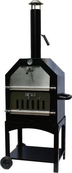 Buschbeck Pizzaofen, schwarz, Grillen Backen Räuchern Grillkamin Holzkohlegrill | eBay