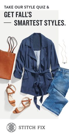 Transition your wardrobe from summer to fall with the perfect pieces, handpicked by your personal stylist. Sign up for Stitch Fix to discover the hottest trends of the season, and keep only what you love. Shipping is free both ways!