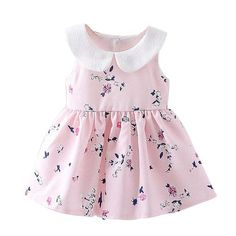LCJMMO 2017 Baby Girl Dress Summer Floral Princess Party Cute Cotton Baby  Girls Clothing Kids Lolita bow-knot Dresses For - Best Kids Clothing Stores  Online 1e99c1823e5f