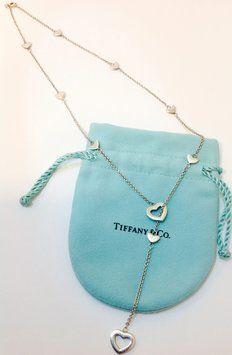 Tiffany & Co. Tiffany and Co. Heart Lariat Necklace