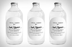 Our/Vodka Allows Locals to Give It Their Own Hometown Character #local trendhunter.com