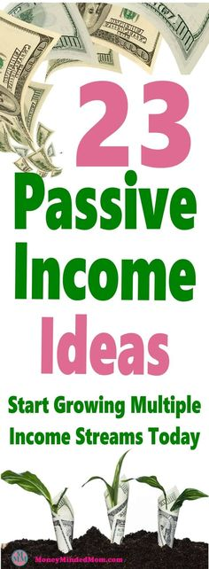 Passive Income - 23 Easy Passive Income Ideas ~ Start Growing Multiple Income Streams Today Legendary Entrepreneurs Show You How to Start, Launch & Grow a Digital Hours of Training from Industry Titans Earn More Money, Earn Money From Home, Earn Money Online, Online Jobs, Online Income, Online Careers, Money Fast, Online Earning, Affiliate Marketing
