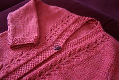 Ravelry: Lacy Cardigan, Hat, and Shoes by Sirdar Spinning Ltd.