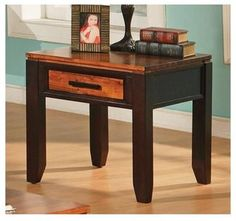Abaco End Table w Drawer 172.00