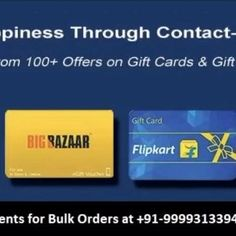 """😷😷Afraid to exchange gifts this Diwali due to COVID ?? 🤔🤔 Trying to get contactless gift ?????? 🎁 🎁🎁🎁 Try our special """" E- Gift Vouchers """" . Gifting made easy with E cards for any brand of your choice !!!!!!!! 📮📮For queries 📞 9999313394 Or 💌 contact@angelgifts.in #covid #covidgifting #diwali #giftingsolutions #contactless #festival Big Bazaar, Diwali Gifts, Gift Exchange, Gift Vouchers, E Cards, Make It Simple, Easy, Electronic Cards, Ecards"""