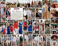 Bill Cunningham - On the Street: The Ponies July 3rd, 2011 http://video.nytimes.com/video/2011/07/01/fashion/100000000891815/on-the-street-the-ponies.html