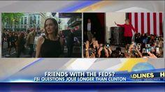 Angelina Jolie's FBI Interview Was Longer than Hillary Clinton's