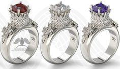 #thistlerings #thistleflowerring #scottish #engagement #weddingday #goldring #gift #silverring #diamondrings  Free shipping @ Michaelmjewelry.com