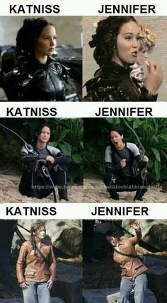 Lol haha funny pics / pictures / Hunger Games Humor / Catching Fire / Katniss / Jennifer Lawrence