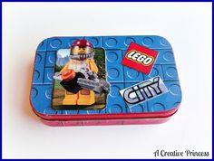 A Creative Princess: Lego Travel Kit {Altoid Tin Version}