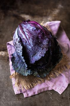thevegetablemarket:  Purple Cabbage by onegirlinthekitchen on Flickr.