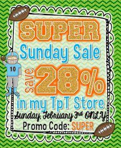 Sub Hub: Super Sale!