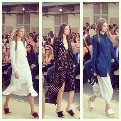 Pardon Our French: A Look Back at Paris Fashion Week in Instagrams:  We know what a girl wants. Chloé . . . and lots of it.