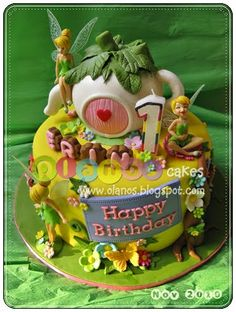Tinkerbell by olanos cakes