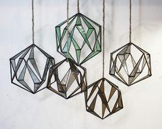 Lesley Green Icosa Pendants