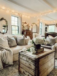 Best Of Living Room Designs Farmhouse Cozy Rustic farmhouse cozy living room fixer upper Small Living Rooms, Home Living Room, Apartment Living, Living Room Designs, Rustic Living Room Decor, Western Living Rooms, Living Room Grey, Country Living, Living Area
