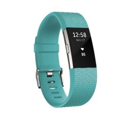 Fitbit Charge 2 Activity Tracker + Heart Rate - Large, Blue