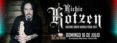 Richie Kotzen en Argentina