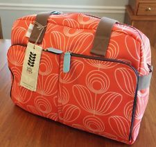 Nwt Orla Kiely Satchel Travel Diaper Bag Overnighter Carry On