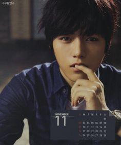 Myungsoo 2014 calendar