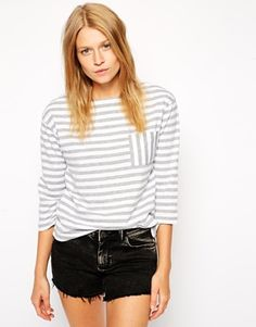 Discover women's t-shirts and tanks with ASOS. Shop the range of camis, print and graphic t-shirts & tanks, going out shirts and long sleeve t-shirts with ASOS. Casual Wear, Casual Dresses, Casual Outfits, Asos, Going Out Shirts, Sweater Weather, Spring Summer Fashion, Fashion Online, T Shirts For Women